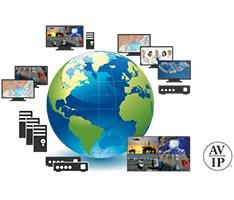 Система передачи видео, аудио и управления в реальном времени по IP-сети